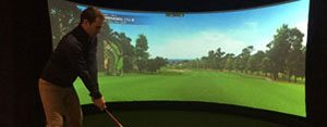 Golf Driving Range in London | Indoor Golf Simulator 8